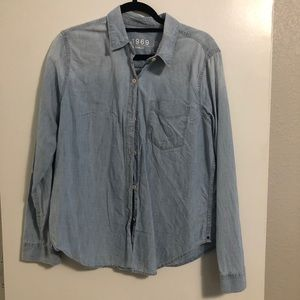 GAP Tops - Denim shirt